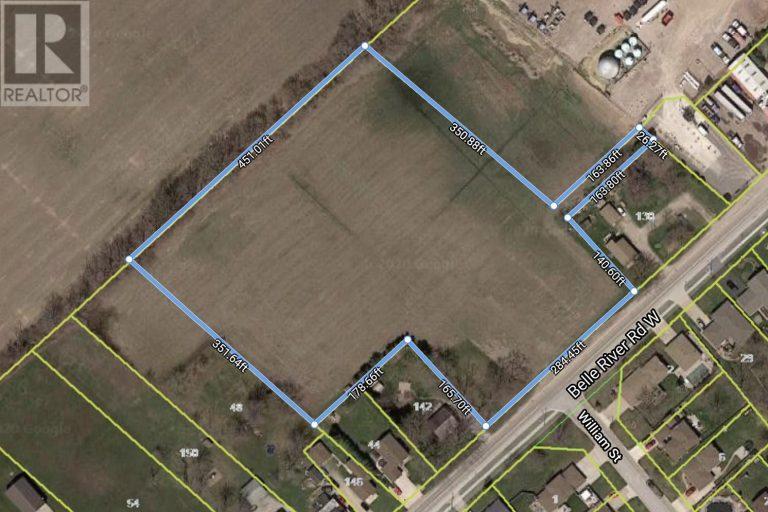 Image nr 1 for listing V/L BELLE RIVER RD (COUNTY RD 27) Kingsville